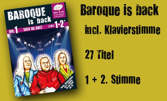 Baroque is back Vol.1